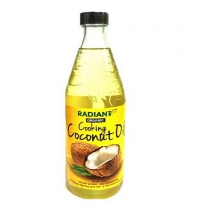 Radiant Organic Cooking Coconut Oil 750ml