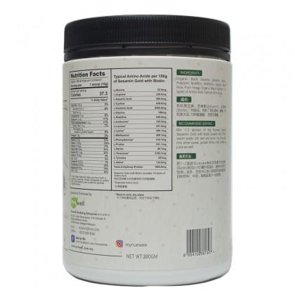 Nuewee Organic Sesamin Gold with Biotin 有机芝麻与生物素保健饮品 300g