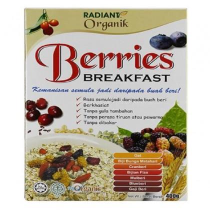 Radiant Organic Berries Breakfast 400g