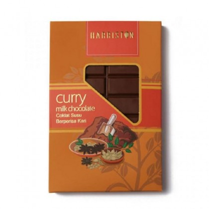 Harriston Herb Series Chocolate - Dark Chili / Milk Curry / White Sesame / Dark Ginger