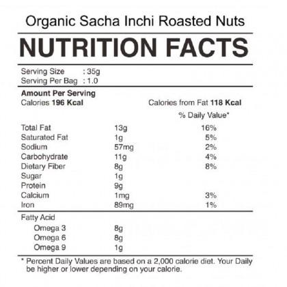 Sacha Inchi Seed/Nut Snack 100g