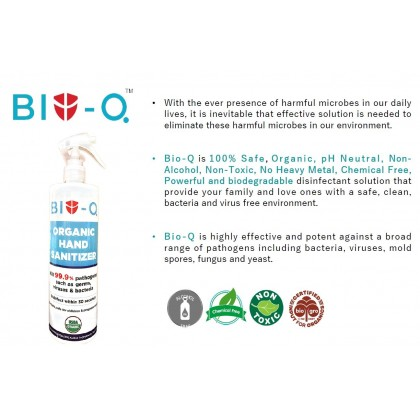 BioQ Disinfectant / Hand Sanitizer 500ml